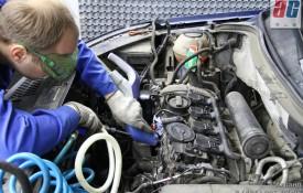 Очистка выпускных клапанов от нагара химическим способом DRIVE 2 18