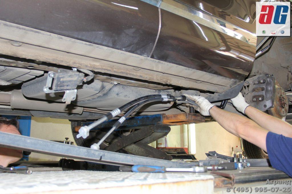 ремонт кондиционера туарег