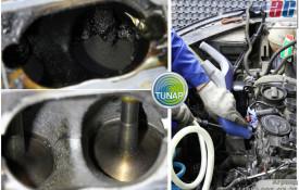 Чистка клапанов VW Tiguan 2.0 Tfsi | Технология TUNAP