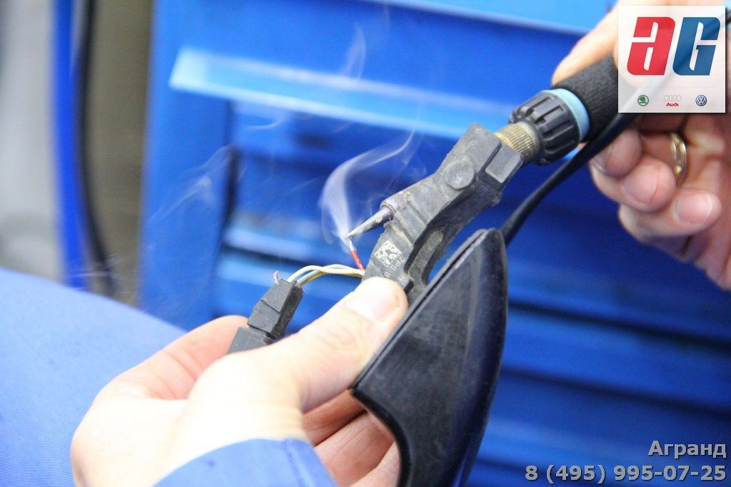 ремонт ручки keyless туарег